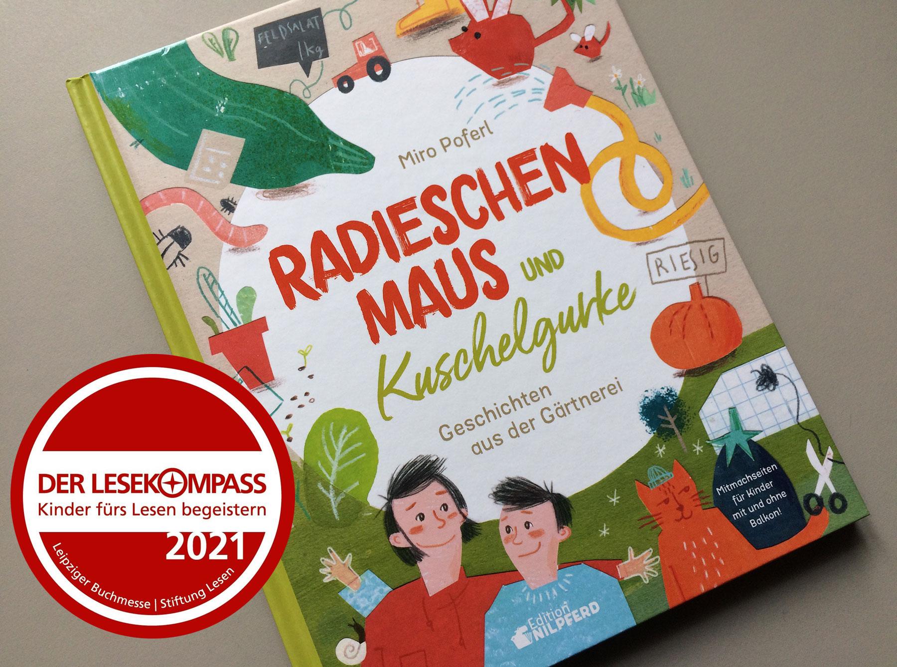 Buchcover Radieschenmaus und Kuschelgurke