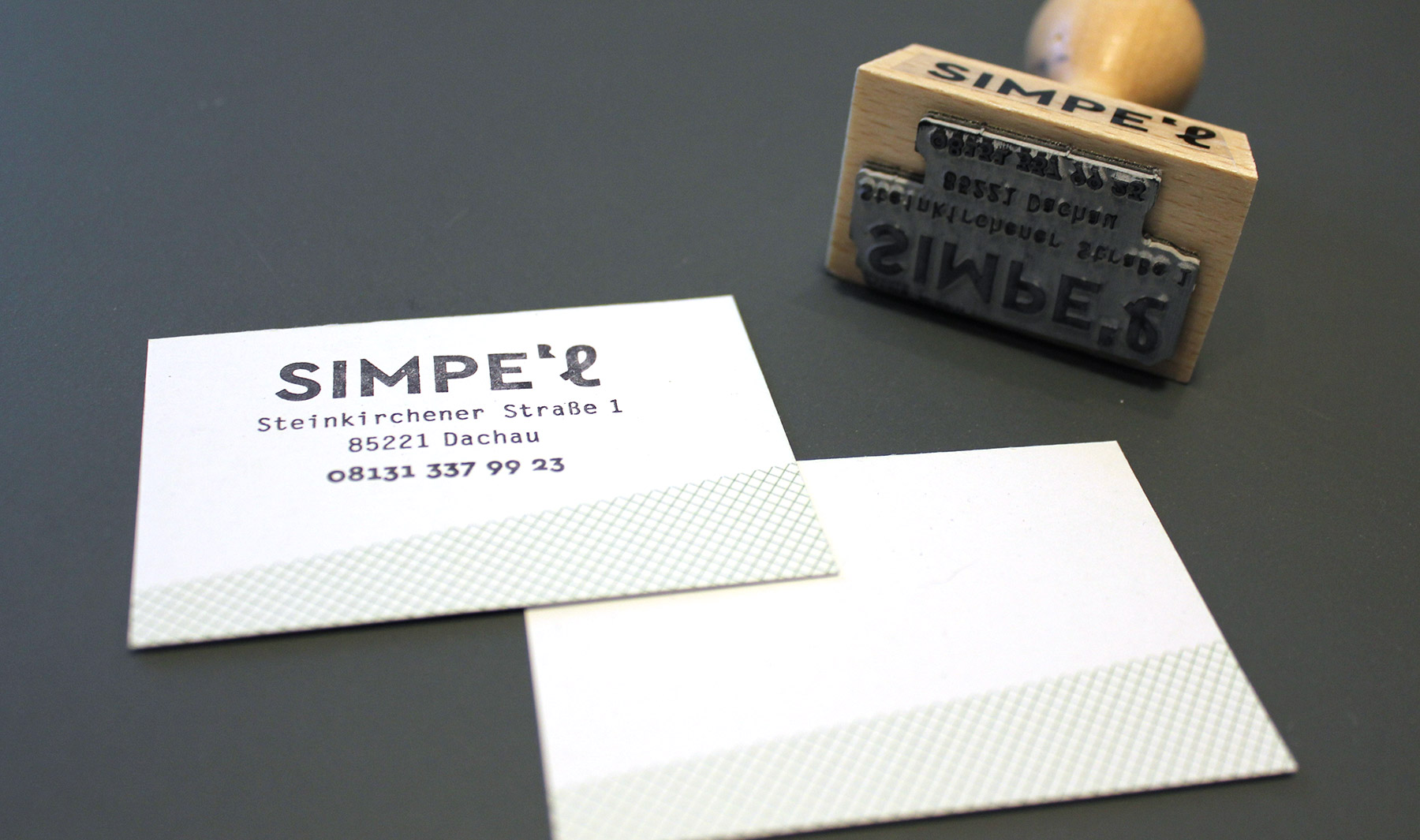 Stempel für den Unverpacktladen Simpel