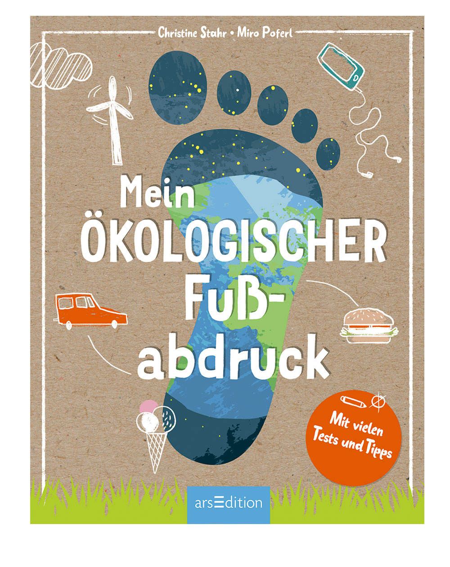 """""""Mein ökologischer Fußabdruck"""" Cover"""